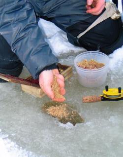 Ловля подлещика на мормышку зимой