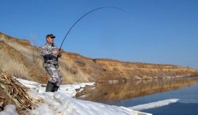 Снасть для ловли судака в марте