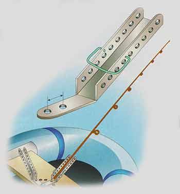 Переделанная подставка для ловли с резиновой лодки