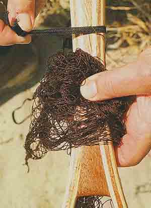 Забродный подсак из дерева